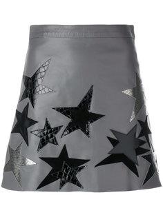 юбка с нашивками звезд Manokhi