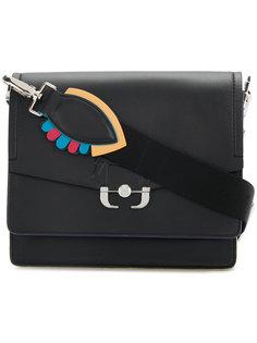 сумка на плечо с пряжкой Paula Cademartori