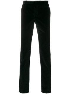 бархатные брюки кроя слим Al Duca D'Aosta 1902
