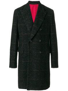 двубортное пальто Caruso