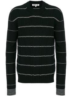 свитер в полоску McQ Alexander McQueen