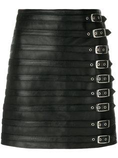 мини юбка с пряжками Manokhi