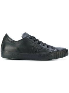 кроссовки с заплаткой с логотипом Philippe Model