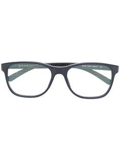 очки с прямоугольной оправой Bulgari