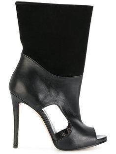 ботинки с открытым носком и прорезями Marc Ellis