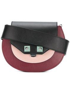 сумка на плечо дизайна колор-блок Salar