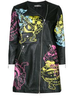 пальто на молнии с принтом Jeremy Scott