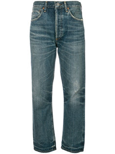 укороченные прямые джинсы Citizens Of Humanity