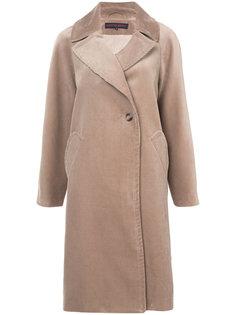 удлиненное однобортное пальто Martin Grant