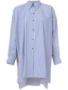 удлиненная полосатая рубашка Martin Grant