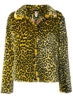 пальто с леопардовым принтом Shrimps
