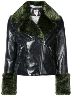 куртка с меховой оторочкой Shrimps