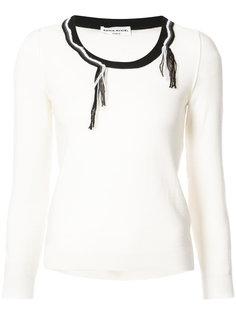 свитер с бахромой Sonia Rykiel