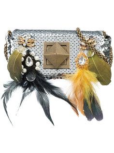 мини-сумка с пайетками Sonia Rykiel