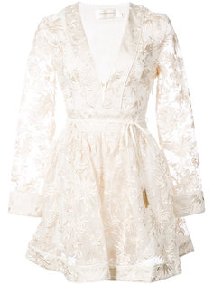 платье с вышивкой Rife Zimmermann