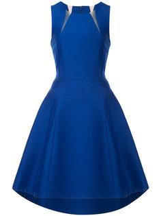 платье с фигурным вырезом Halston Heritage