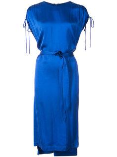 платье  с присборенными рукавами Lover