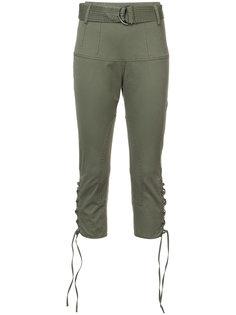 укороченные брюки с завышенной талией Marissa Webb