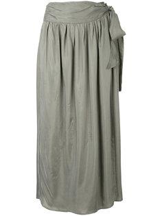 юбка миди с завязками 08Sircus