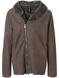 fitted shearling coat Giorgio Brato