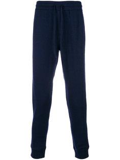 зауженные спортивные брюки Kent & Curwen