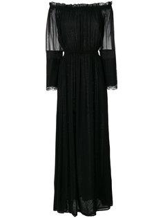 длинное платье с открытыми плечами Loyd/Ford