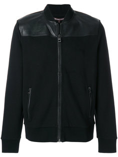 куртка-бомбер с панельным дизайном Michael Kors