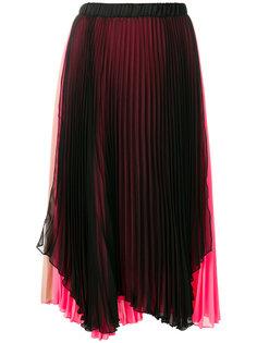 плиссированная юбка с контрастным дизайном Loyd/Ford
