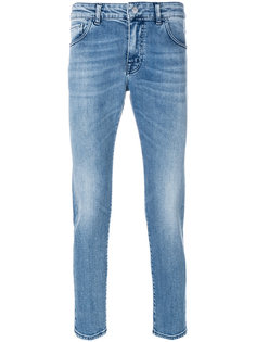 джинсы с потертой отделкой Entre Amis
