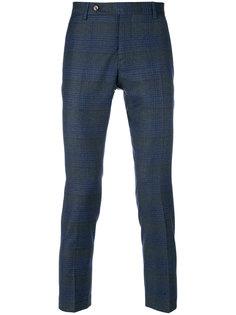 укороченные брюки с полосатым узором  Entre Amis