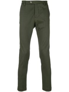 укороченные брюки  кроя слим Entre Amis