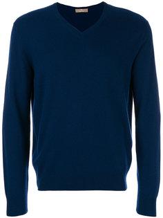 классический свитер с V-образным вырезом Cruciani