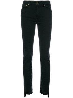 джинсы скинни с асимметричными щиколотками Dondup