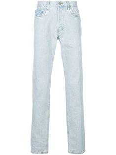 джинсы прямого кроя Yeezy