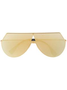 солнцезащитные очки-авиаторы Fendi Eyewear