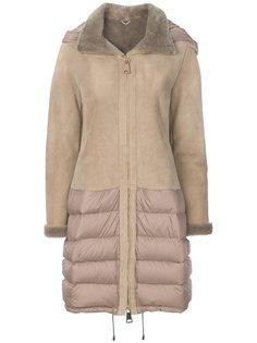 пальто-пуховик на молнии Liska