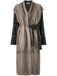 пальто Benoit с поясом Inès & Maréchal
