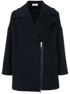 пальто с наружной молнией Barena
