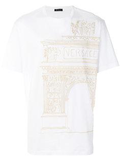 футболка с Античным принтом Versace