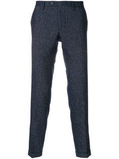 брюки строгого кроя Delloglio