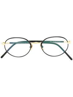 классические очки в круглой оправе Lunor