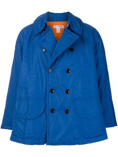 двубортное пальто на пуговицах  Comme Des Garçons Shirt
