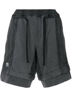 спортивные шорты с панельным дизайном KTZ