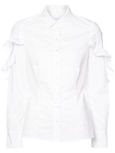 рубашка с рюшами на рукавах Sea