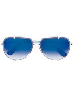 солнцезащитные очки-авиаторы с градиентными линзами Dita Eyewear