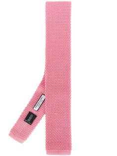 трикотажный галстук с квадратным кончиком Fashion Clinic Timeless