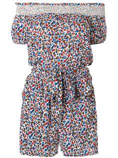 комбинезон с открытыми плечами с цветочным узором Tory Burch