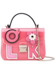 сумка через плечо Candy с аппликациями Furla