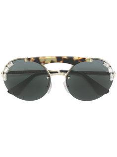 солнцезащитные очки Jewelled Runway Prada Eyewear