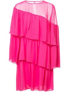 платье с диагональными рюшами Vanessa Seward